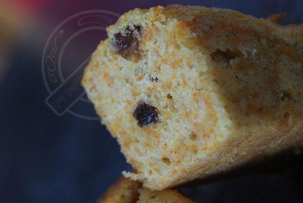 Cake carottes, canelle, raisins secs 3