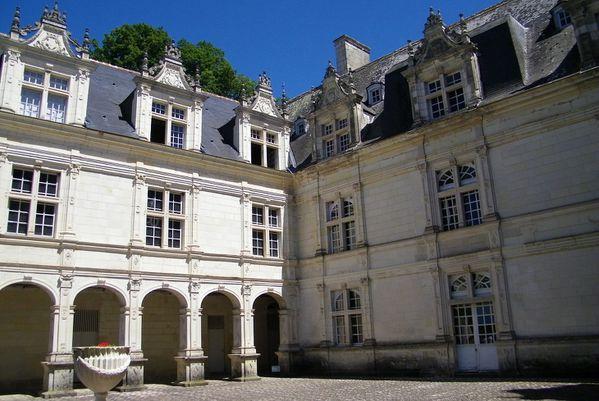 1502 Courtyard, Renaissance Château de Villandry, 1536