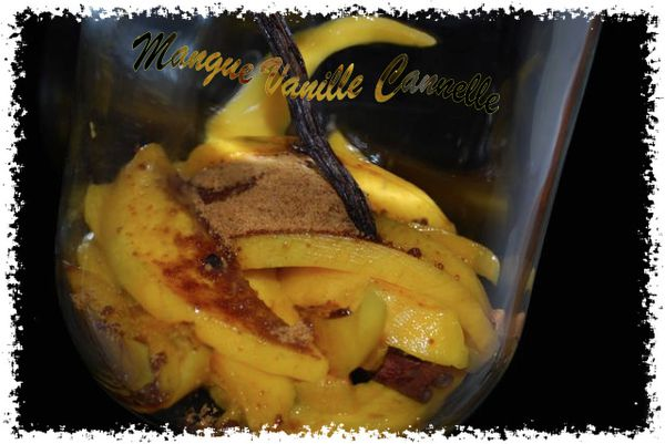 rhum arrang mangue vanille cannell