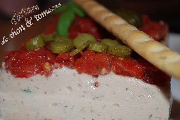 tartare de thon &amp; tomates
