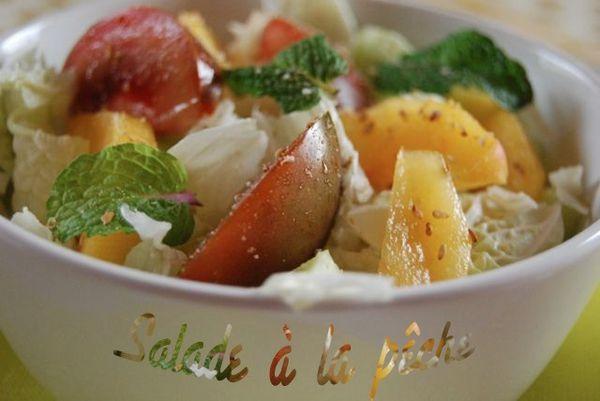 salade pêche 1