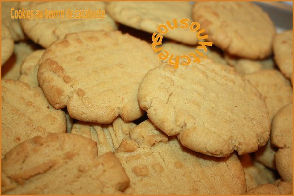 Peanut butter cookies 126