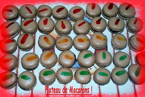 plateau macaron