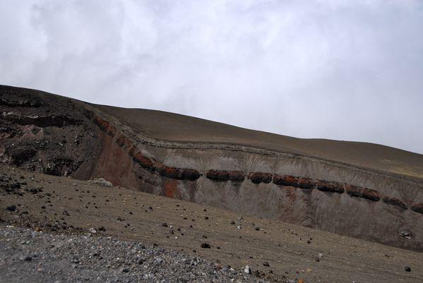 cotopaxi volcan ancienne coulée
