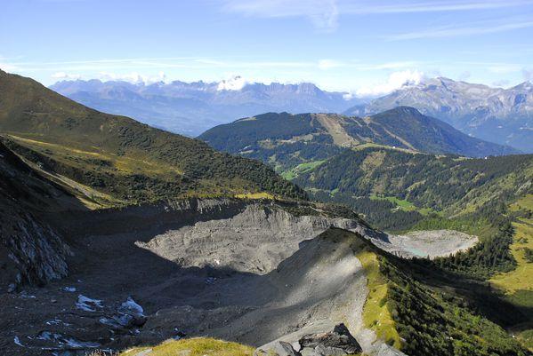glacier de bionnasay langue terminale