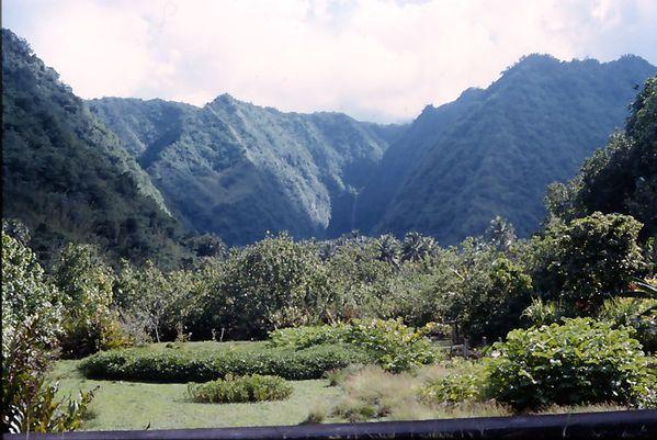 tahiti vallée des 3 cascades
