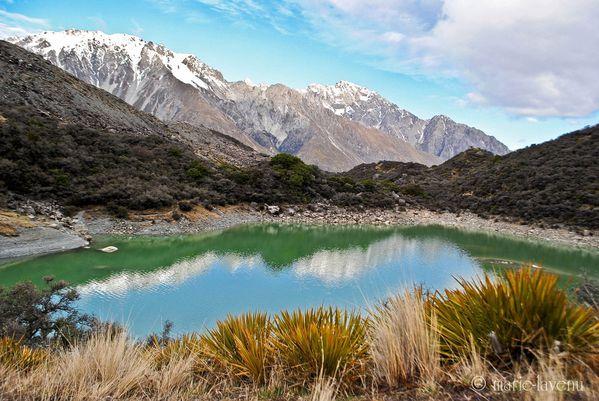 Blue Lake, Mont Cook National Park