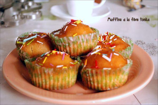 miffins a la fève tonka