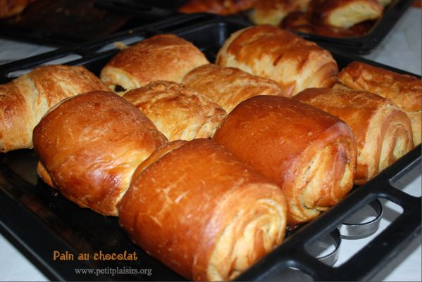 recette du pain au chocolat. Black Bedroom Furniture Sets. Home Design Ideas