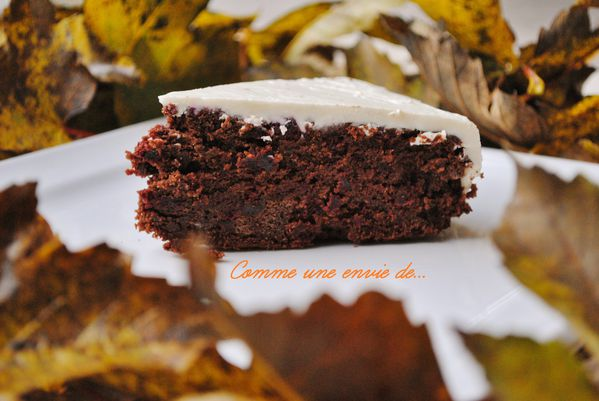 Gateau chocolat betteraves le blog de comme1enviede for Betterave micro onde