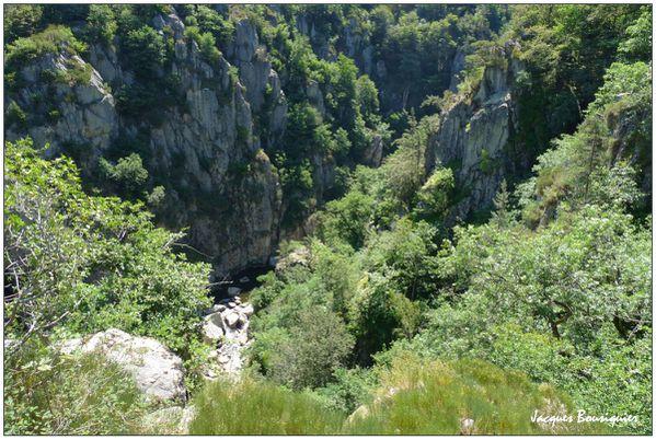 Cantal Gorges du Bes