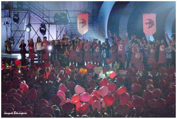 Enfoires 2011 Montpellier final benevoles 08