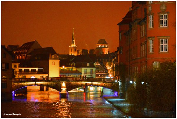 Strasbourg by night La petite France 1