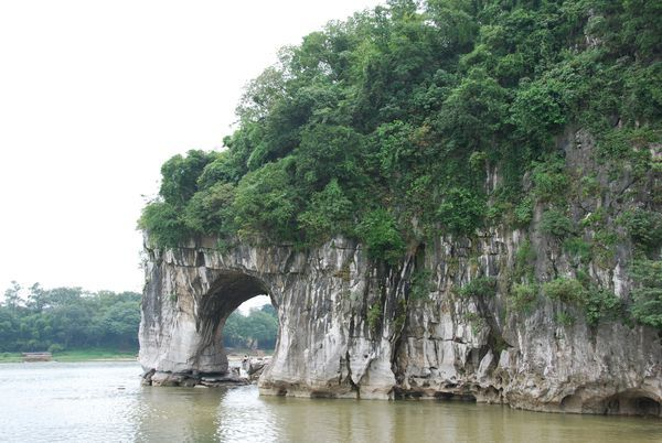 La colline en trompe d'elephant a Guilin
