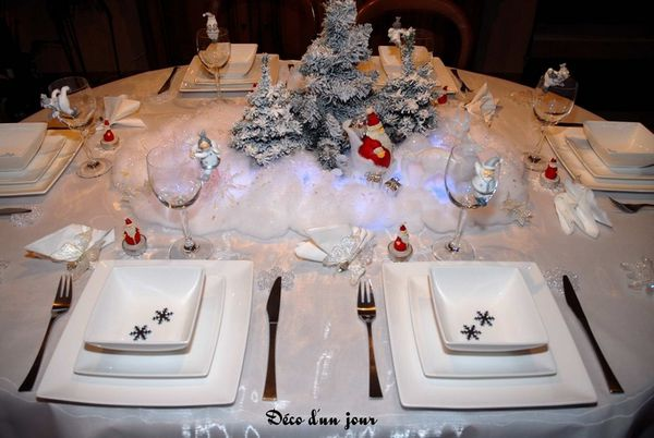 D coration de table le blog de la famille storcka - Presentation table de noel ...