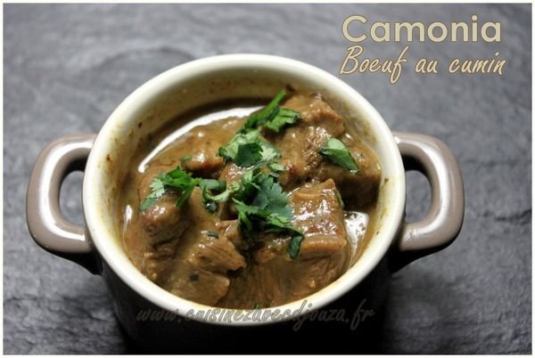 Camonia boeuf au cumin photo 2