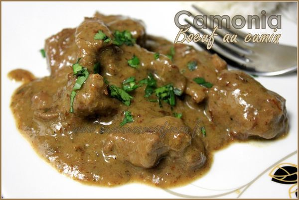 Camonia boeuf au cumin photo 3