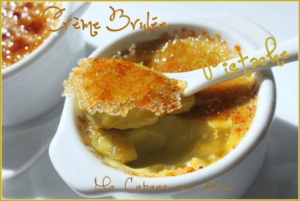 creme brulee pistache photo 1