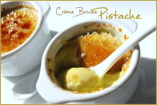 creme brulee pistache photo 2
