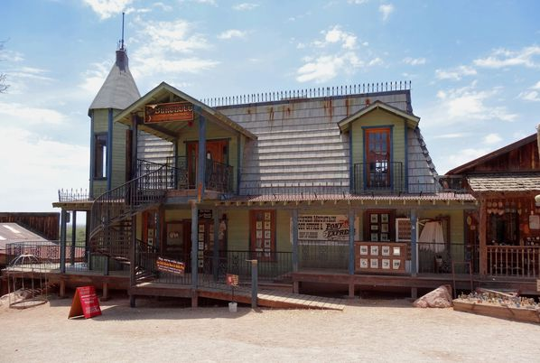 Apache Trail Goldfield Ghost Town Lu Lu's Bordello