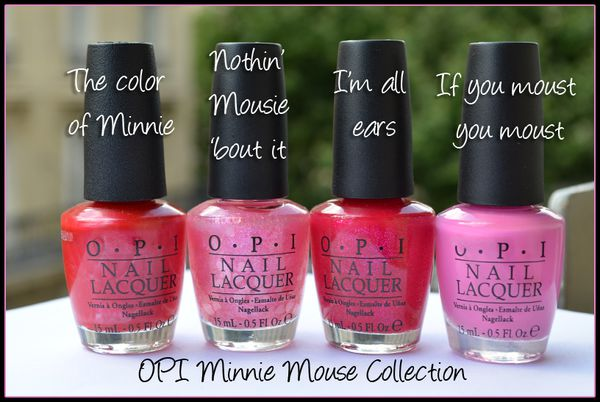 OPI Minnie Mouse collection
