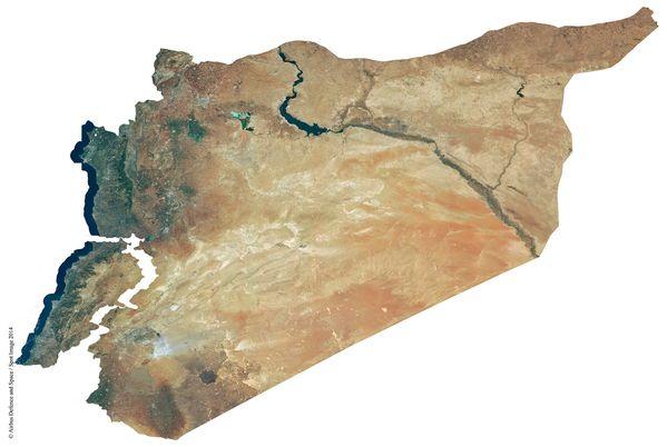 Liban - Syrie - Spot 6 - SpotMaps 1.5 -