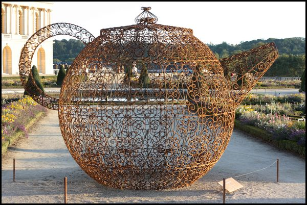 Pavillon du th - Joana Vasconcelos - jardins de Versaille