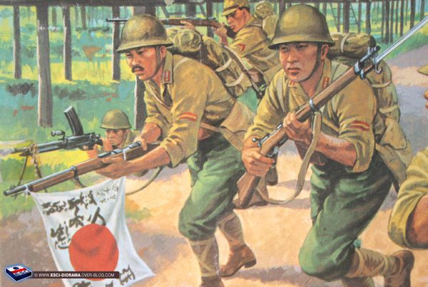 Airfix-Multipose-figures---Japanese-Infantry-1941-45---2