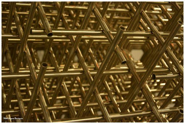 Sphere Trame Francois Morellet Dynamo Grand Palais 2