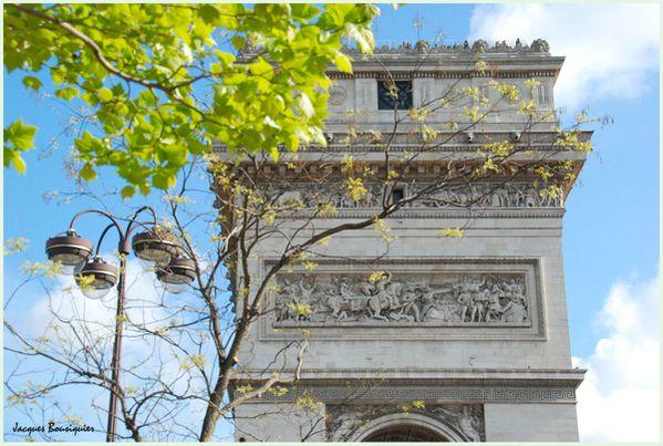Paris arc de triomphe Place etoile