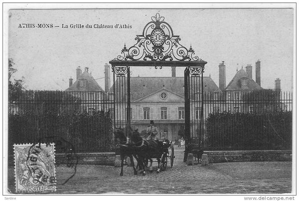 Chateau d'athis 1910