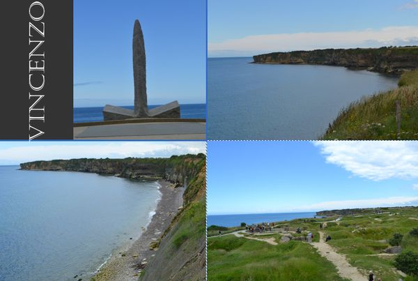 Normandie pointe du Hoc