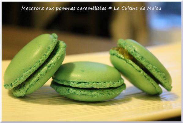 macarons-pommes-caramélisées-recette