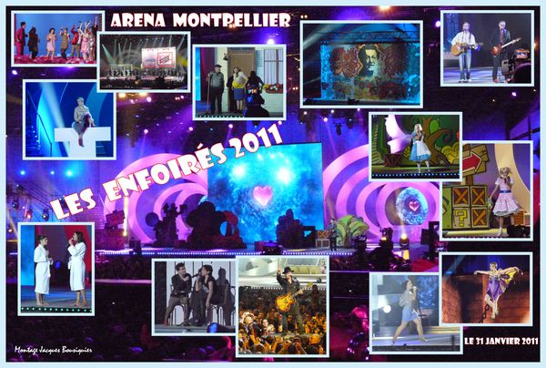 Enfoires 2011 Arena Montpellier