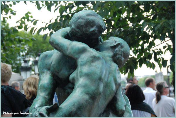 Le baiser Rodin orangerie