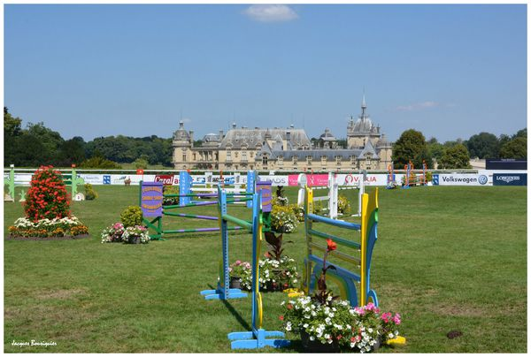 Chantilly chateau Jumping Global Champions Tour 2013