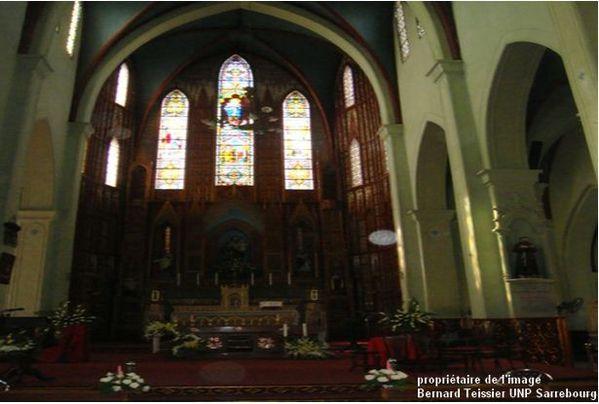 2012-cathédrale Saint Joshep à Hanoï