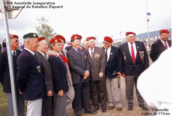 1994-Amneville inauguration Av. Bataillon Bigeard (28)