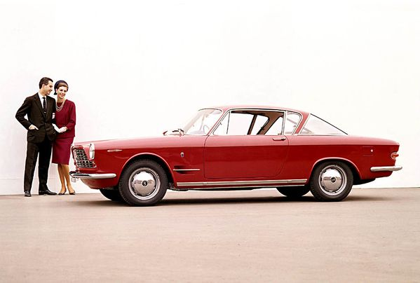 fiat 2300-s coupe 61-62 1