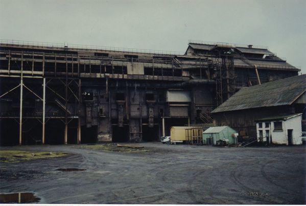 1978 Restes des faces nord de l'acièrie Thomas b