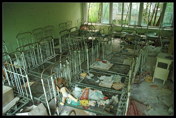 154 Pripyat kindergarten 05 beds