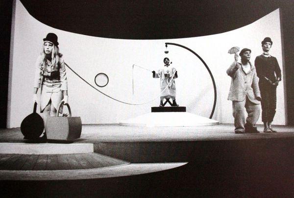 Quartucci Carlo 1964 Allestimento di Aspettando Godot Gêne