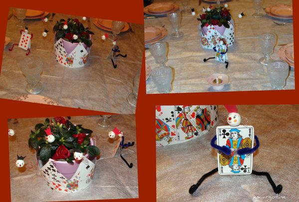 collage table anniversaire