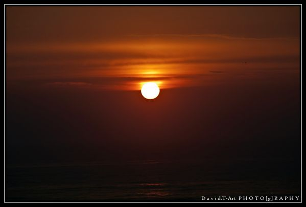 sunset sur Biscarosse (3)