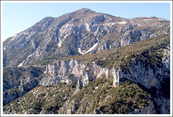 Gorges du Verdon Rive Gauche Mescla (16)