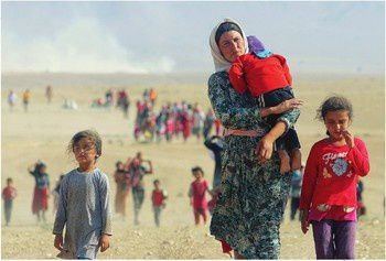 Réfugiers irakiens