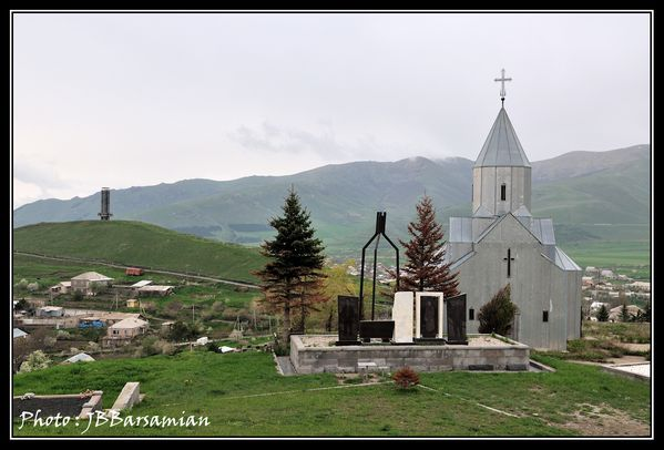 DIRECTION CIMETIERE DE SPITAK