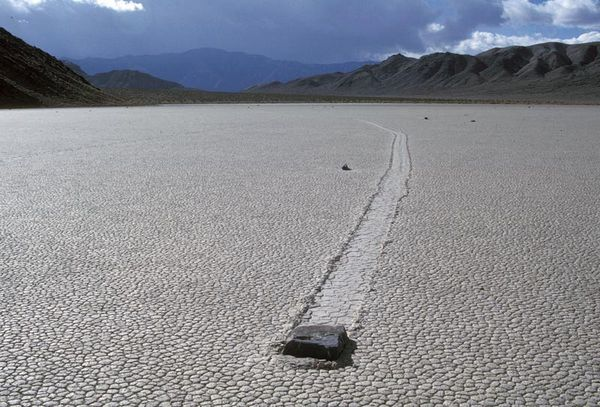 death valley - racetrack playa - MBM