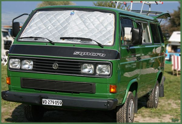 davw t3 syncro caravelle green