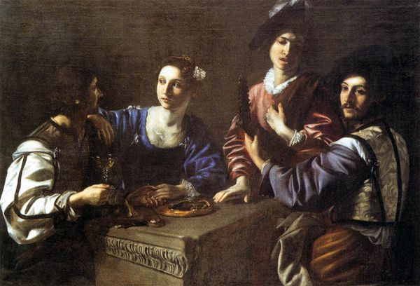 nicolas-tournier-drinking-party-with-a-lute-player